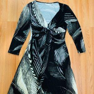 And Company three-quarter sleeve dress